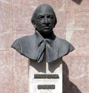 Illyés Gyula szobor Beregszász