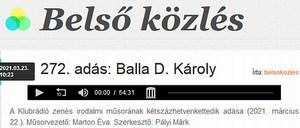 balla d. károly klubrádió
